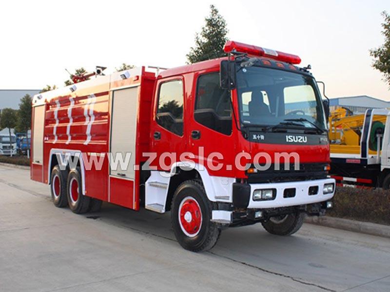 五十铃牌水罐消防车(国五)