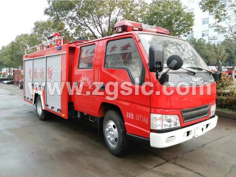程力集团锐铃2吨泡沫消防车(国五)